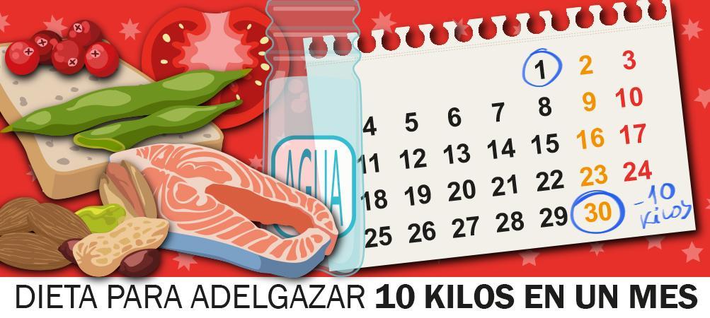 Una dieta para perder peso en poco tiempo