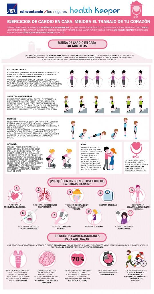 los mejores ejercicios cardiovasculares