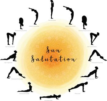 Yoga: Saludo al Sol