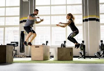 Entrenamiento de fuerza explosiva: saltos en altura
