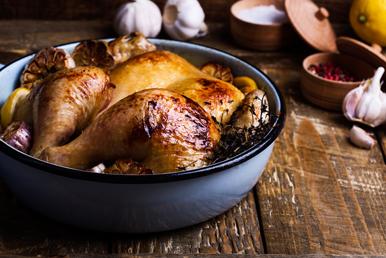 Recetas de invierno saludables, fáciles y económicas: pollo