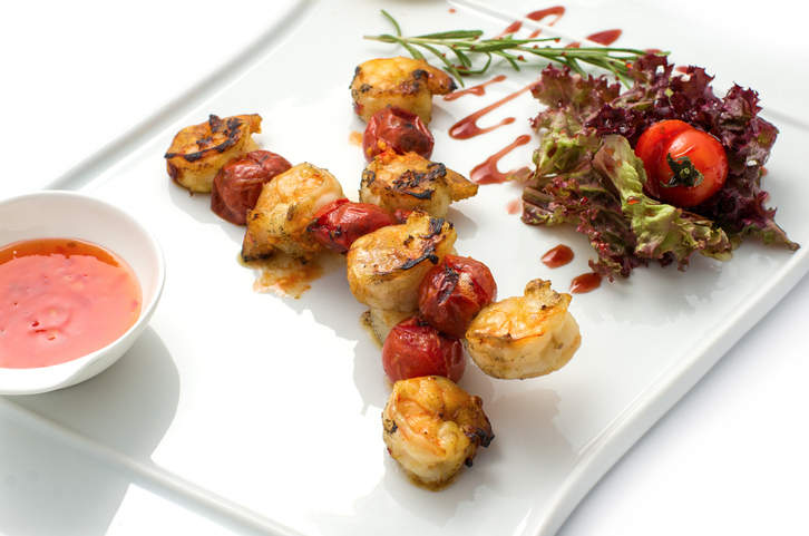 Tapas light brocheta