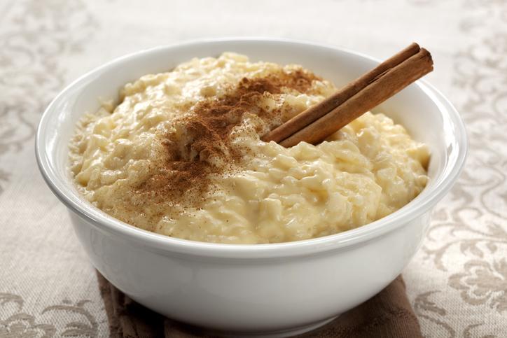5 recetas con restos Pudin de arroz