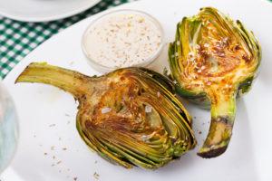 Recetas ligeras y saludables Alcachofas