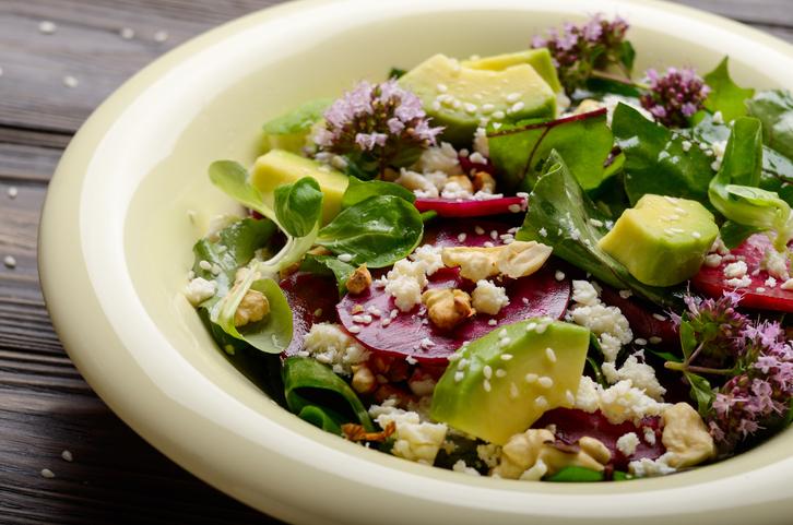 Recetas ligeras y saludables Ensalada