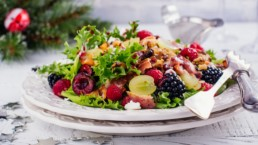 Recetas ligeras y saludables para estas navidades