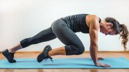 Rutinas de entrenamiento de intervalos de alta intensidad (HIIT)