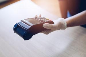 Hacer la compra sin contagiarse No dinero en efectivo
