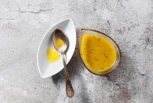 5 recetas sencillas de salsas saludables para acompañar. Vinagreta