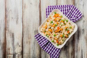 Recetas fáciles y saludables pollo con verduras.