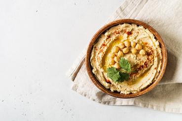 Garbanzos: Propiedades nutricionales y contraindicaciones. Hummus