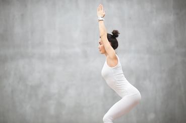 Yoga Iyengar para principiantes. Utkatasan