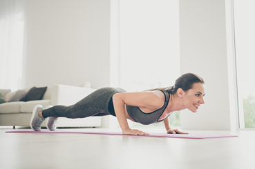 Hacer primero cardio o fuerza. Flexiones en T