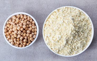 ¿Qué harina es la más saludable? De garbanzo
