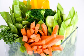 Crudités vegetales