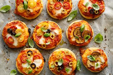 Pizzetas provenzales