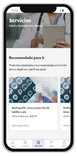 Canjéalos por servicios virtuales, médicos y de bienestar