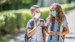 El riesgo de COVID19 grave en niños es muy bajo
