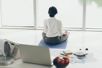 Combatir el estrés mediante la meditación